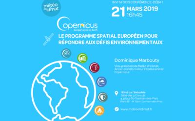 """""""Copernicus, le programme spatial européen pour répondre aux défis environnementaux"""""""